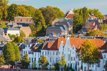Witte huisjes van Nijmegen