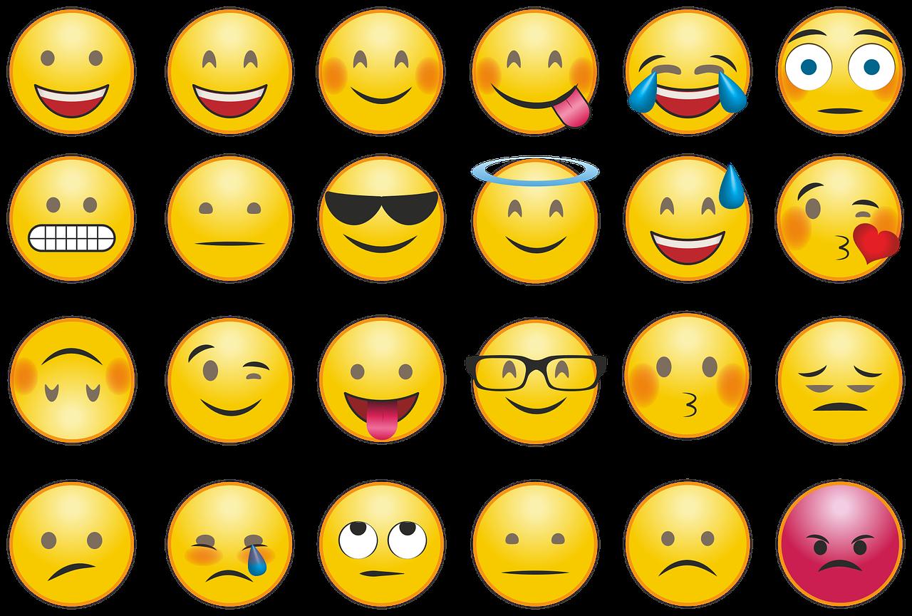 emoticons dating profiel wat te schrijven over jezelf op dating website