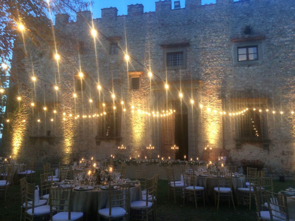 Bruiloft lichtjes