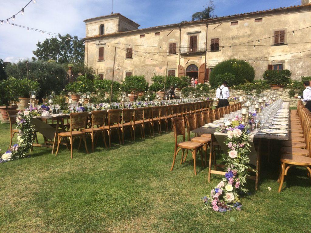 Bruiloft tafel