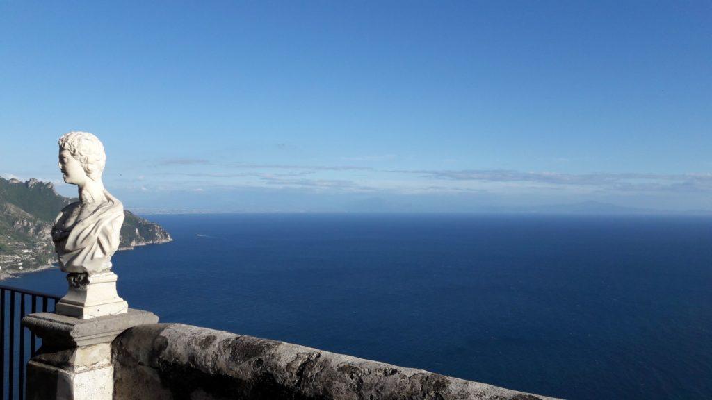 Bruiloft zee uitzicht
