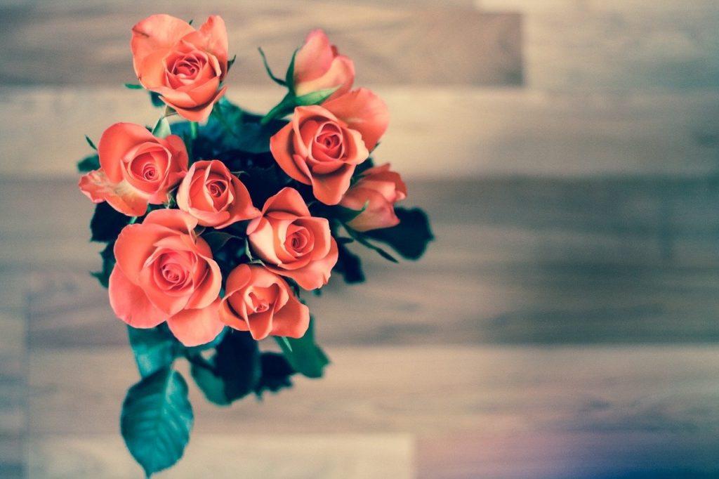 Valentijnsdag bloemen