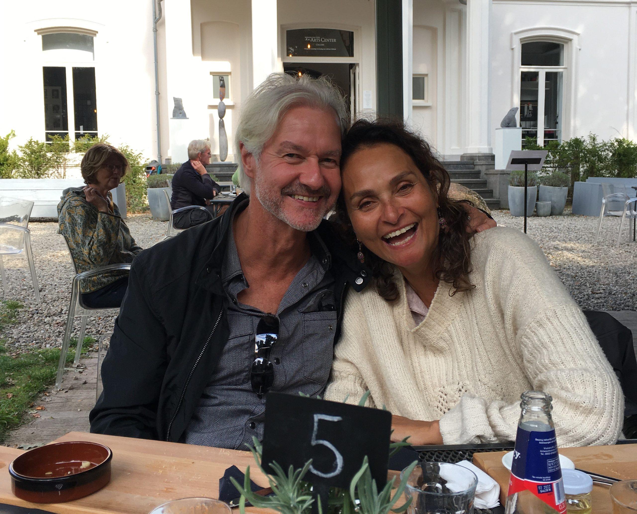 Ewoud en Marlou samen