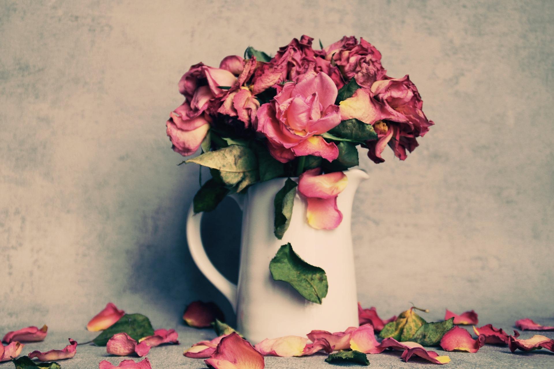 Weduwe bloemen